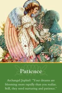 Archangel Jophiel Patience