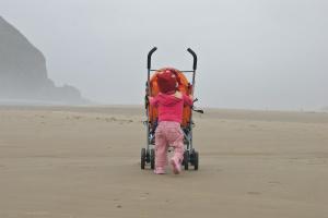 pushing_stroller