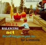 A Balancing ActIndeed
